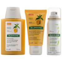 Klorane Dry Hair Rescue Set