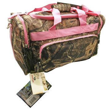 "20"" Mossy Oak Duffel Bag - Pink"