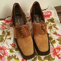 Vintage Bally Shoes sz 6 1970s
