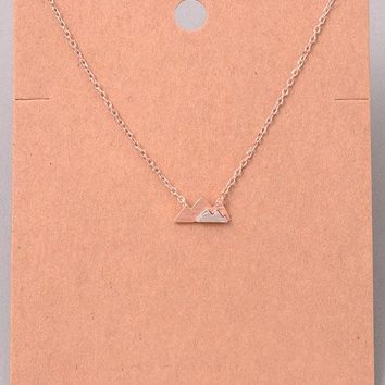 Mountain to Climb Necklace
