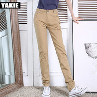 high quality Trousers Women 2017 spring Casual OL Formal Harem Pants Women elegant Office straight work wear loose long Pant