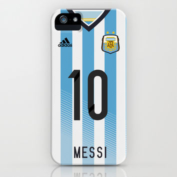 World Cup 2014 - Argentina Messi Shirt Style iPhone & iPod Case by Maximilian San