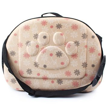High Quality Pet Dogs and Cats Travel Bag Soft EVA Portable Foldable Pet Bag Two Sizes Breathable Outdoor Carrier Pet Bag