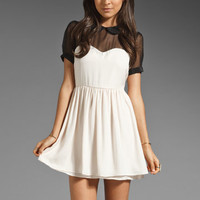 Pencey Standard x Jessica Hart Sweetheart Dress in Ivory from REVOLVEclothing.com