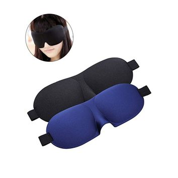2pcs Sleeping Mask Sleep Blindfold 3D Eye Mask for for Nap Travel Light Block Comfortable