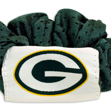 Green Bay Packers Hair Twist Ponytail Holder