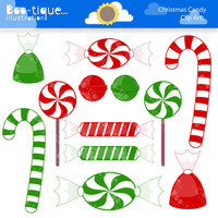 Christmas Candy Digital Clipart for Instant Download. Christmas Clipart. Xmas Clipart. Candy Clip art. Christmas Clipart. Candy Clipart