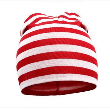 2017 Newborn spring winter New Unisex Baby Boy Girl Toddler colorful Cotton Soft Cute Hats Cap Beanie Free shipping