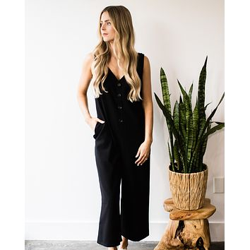 Jeanette Twill Jumpsuit