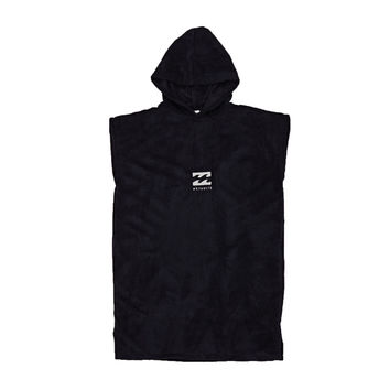 Billabong Junior Vader Hooded Poncho - Black