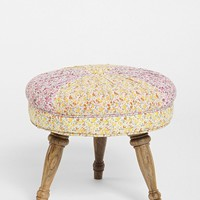 Plum & Bow Floral Pin-Tuck Stool - Urban Outfitters