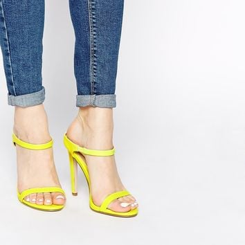 ASOS HORIZON Heeled Sandals