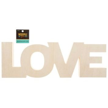 Love Standing Wooden Word | Shop Hobby Lobby