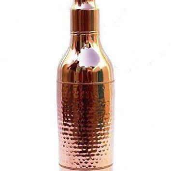 Limited Edition 100% Pure Copper Water Bottle for Ayurvedic Health Benefits
