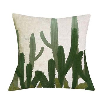 African Nature Cushion Covers - 43x43cm (Cactus 2)