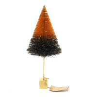 Halloween Gold Trunk Sisal Tree Halloween Decor