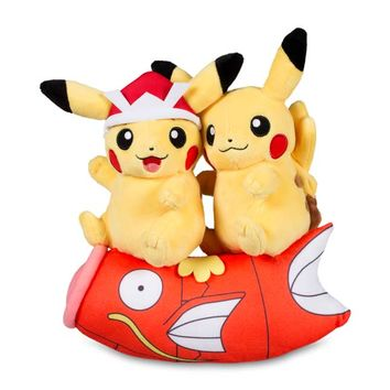 Paired Pikachu Celebrations Poké Plush: Children's Day Pikachu