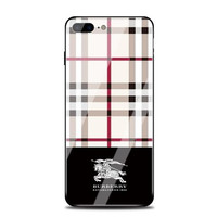 Burberry Mirror Phone Case For iPhone X 8 8 Plus 7 7Plus 6 6s Plus