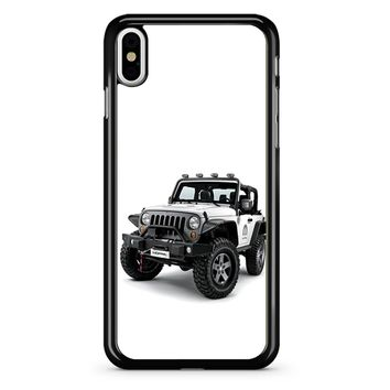 Jeep Wrangler White iPhone X Case