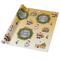 Frame Glossy Wrapping Paper