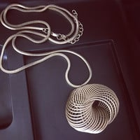 Retro Unique Long Necklace + Gift Box Jewelry-53