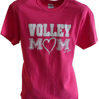 Volley Mom Short Sleeve Volleyball T-shirt