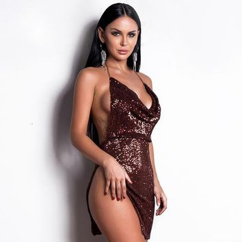 Wonderlust Dress - Bronze