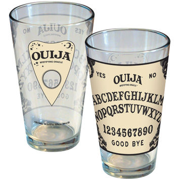 Ouija Pint Glass