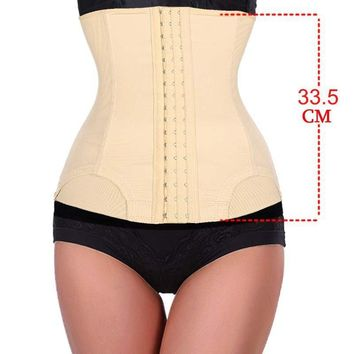 7 Steel Bone waist trainer Women Slimming Waist training corsets Underbust cincher body shaper corset slimming belt