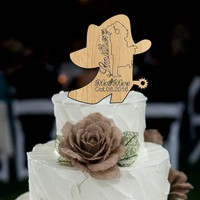 Wedding cake topper rustic mr and mrs with the last name a event day, deer wedding cake topper - Country Cake Topper - wedding decorations