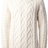 Maison Martin Margiela Cable Knit Sweater - Smets - Farfetch.com