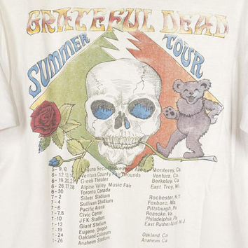 1987 GRATEFUL DEAD summer tour shirt - vintage 80s