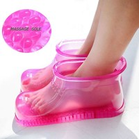 Foot Bath Therapy  Massage Boots Slipper Shoes