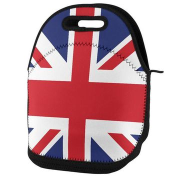 PEAPGQ9 British Flag Union Jack Lunch Tote Bag