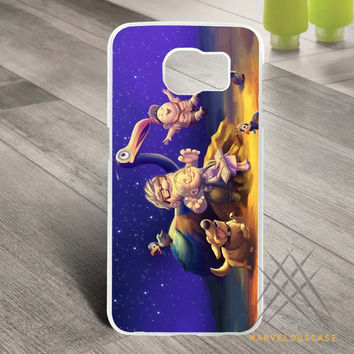 disney pixar dream together Custom case for Samsung Galaxy