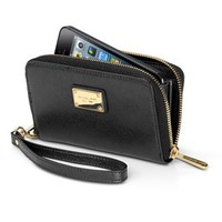MICHAEL Michael Kors Essential Leather Zip Wallet for iPhone 5