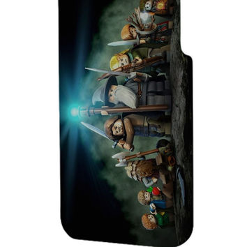 Best 3D Full Wrap Phone Case - Hard (PC) Cover with Lord of the Rings Lego Design