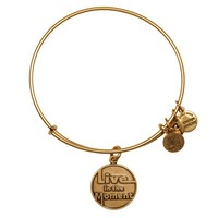Alex and Ani Live In The Moment Charm Bangle - Russian Gold