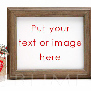 Styled Stock Photography / mock up / Christmas Styled / Digital Background / Empty Frame / Instant Download / JPEG Image / StockStyle-300