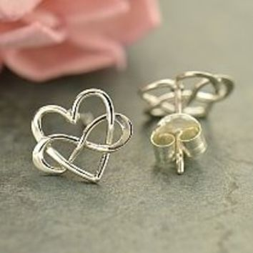 For Jewelry Lovers of All Ages - Tiny Post Earrings - Hearts, Paw Prints, Yoga Symbols, Butterflies, Bows & More