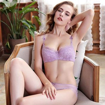 ac DCCKB5Q Hot Sale Thick Long Hot Deal Bra Sexy Lace Underwear Set False Eyelashes [296078377001]