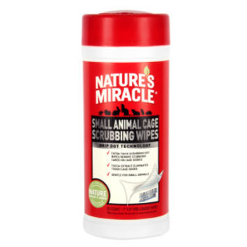 NATURE'S MIRACLE™ Small Pet Cage Wipes   Sanitizers   PetSmart