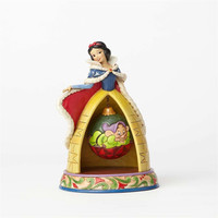 Disney Traditions Jim Shore Snow White Christmas Resin Figurine New with Box