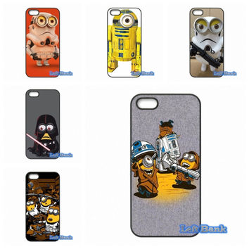 Funny Minions Despicable Me Star Wars Phone Cases Cover For Samsung Galaxy 2015 2016 J1 J2 J3 J5 J7 A3 A5 A7 A8 A9 Pro