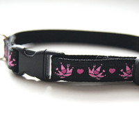 Princess Cat or Mini Dog Collar
