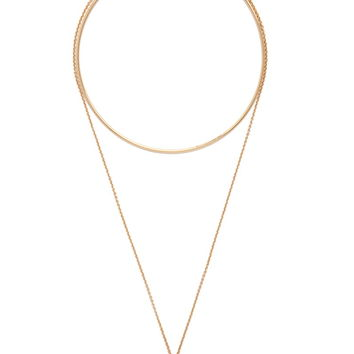Triangle Pendant Necklace Set | Forever 21 - 1000177262