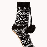 Worldly Tribal Pattern Slippers