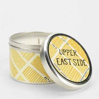 NYC Round Tin Candle-