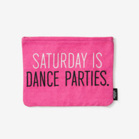 Kate Spade Saturday On Purpose Saturday Is Dance Parties Pouch