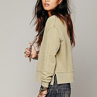 Free People Womens Going Back Pullover -
